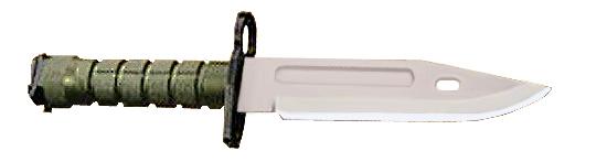 Штык-нож M9 (для винтовок M-16 и карабинов M4). Отказ от штыка не.